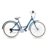 Bicicleta Paseo Top Mega Lady R28 18v Mujer Vintage Playera