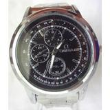 Omega Hermoso Reloj Omega Metalico Plateado Nuevo!!!