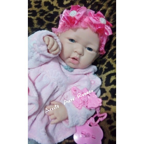 Bebê Reborn Real Menina Baby Reborn 300 Reais Toda Vinil