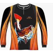 Camiseta Pesca Pirarara Dry Fit Caçadores Brs