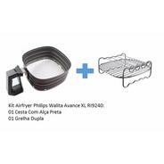 Kit Airfryer Philips Walita Avance Xl Ri9240 Cesta+grelha