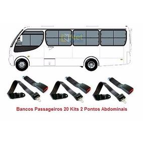 Kit Cintos Segurança Passageiro Micro Ônibus Caio Piccolino