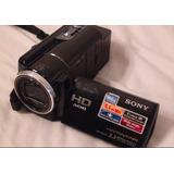 Camara De Video Sony Hd Disco Duro 160 Sonido 5.1 Como Nueva