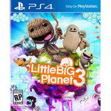 Little Big Planet 3 Ps4 Digital Español Gcp