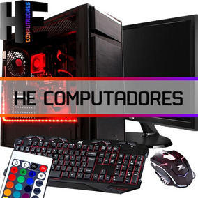 Pc Gamer Cpu Zeta Rgb Amd A10 7860k 1tb 8gb R7 Monitor Top