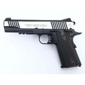 Colt 1911 Mk Iv Full Metal Co2 6mm Airsoft Blowback 344 Fps.