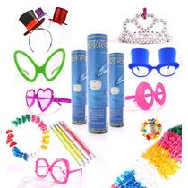 Kit Festa C/kit Debutante-plumas+máscara/15 Anos,100 Pessoas