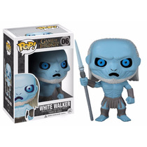 Game Of Thrones - White Walker Boneco Pop Funko 10cms