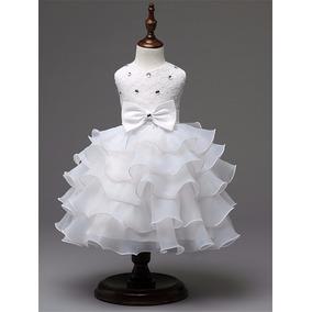 Vestido De Niña Fiesta, Elegante Pagecita
