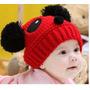 Touca Panda Bebe Criança Gorro Crochet Foto