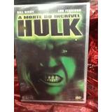 Dvd A Morte Do Incrível Hulk