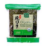 Sushi Nori Orgánica Premium Asado Orgánico De La Alga Marin