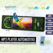 Dvd Automotivo Som Mp3 Usb Micro Sd Aux Carro Veicular V05
