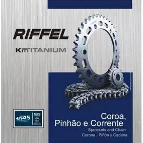 Kit Relação Honda Nxr 150 Bros (06-15) Riffel
