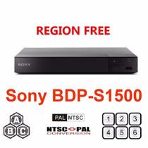 Blu-ray Sony Bdp-s1500 Todos Multi Região Livre Blu-ray Dvd
