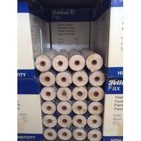 Papel Para Fax Pelikan 10 Cajas (60 Rollos) C/envío