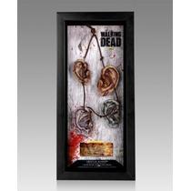 The Walking Dead Collar De Orejas Oficial Con Firma De Actor