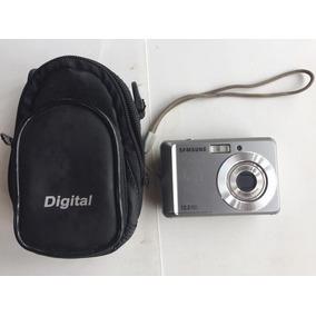 Câmera Digital Samsung 12.2 Megapixels Es17-c/ Capinha E 2gb