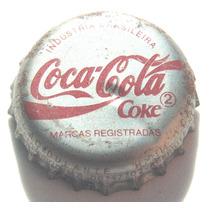 Tampinhas Antigas - Refrigerante Coca-cola Anos 90 - Prata