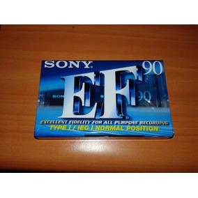 Cassette Virgen Sony 90 M X Caja De 10 Unidades