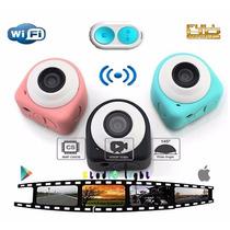 Mini Cam Inteligente De Acción Full Hd+wi-fi +envío+gratis