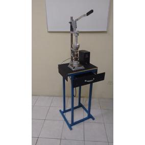 Maquina Inyectora De Plastico Manual Con Base Y Cajonera