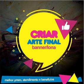 Criar Arte Final Para Banner Site Impressos Lona Adesivo