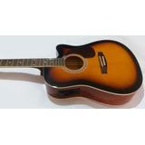 Guitarra Electroacustica Jumbo Importada Eq 4 Bandas