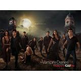 Todas As Temporada De Diários De Um Vampiro (mídia Digital)