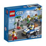 Lego City 60136 Set De Introducción: Policía Original
