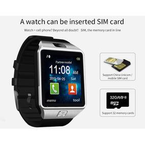 Relógio Dz09 Bluetooth Camêra Chip Redes Sociais Smart Rosa