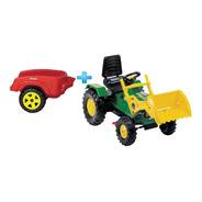 Tractor Pedal Cadena Farmer + Remolque Pala Biemme 3 A 6 Año