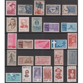 Coleção Completa De Selos Novos Aéreos De 1957 A 1966 - 8131