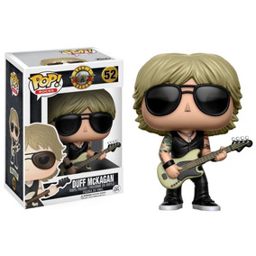 Funko Pop! Duff Mckagan Guns N Roses Original Modelo 52 Top