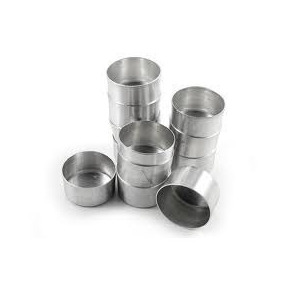 Forminha Pão De Mel Nº 2 Kit Com 24 Unidades Em Aluminio