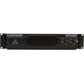 Potencia Amplificador Behringer Ep4000 - 2 X 550w/8 Ohm