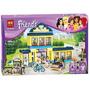 Colegio Secundaria, Friends, Lego De 489 Piezas