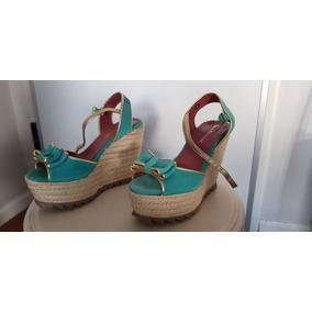 Zapatos Mujer Muy Finos Plataf S/uso N°36 Laura Conztanza