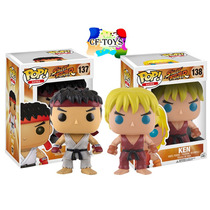 Street Fighter Set Ryu Ken Funko Pop Videojuego Peleas Cf