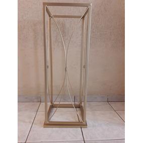 Coluna Ferro Decoração Casamento Pedesta 80cm