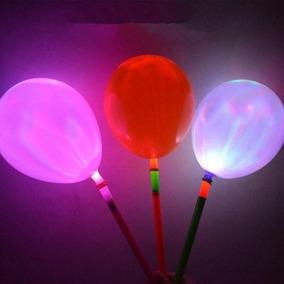 48 Balão Bexiga Led Bastão Festa Aniversário Casamento Buffe
