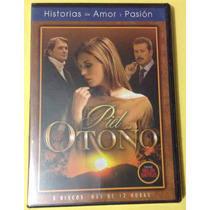 Telenovela - Piel De Otoño - Dvd Laura Flores, Sergio Goyri