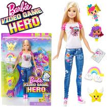 Barbie Em Um Mundo De Vídeo Game- Vídeo Game Hero - Mattel