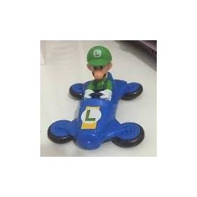 Boneco Mc Donald Mario Kart Luigi