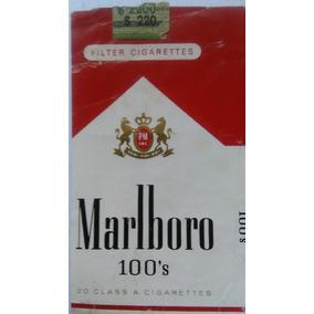 Marquilla Marlboro 100s Usa