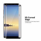 Vidrio Templado P/ Samsung Note 8 Full 3d Semi Curvo