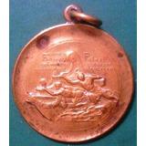Medalla Inaug Monumento A Cristoforo Colombo Bs As Firmada