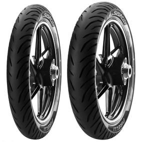 Par De Pneus Strada Cbx 200 100/90-18+80/100-18 Pirelli S/c