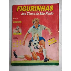 Album Campeonato Paulista 1989 - Incompleto - Editora Bloch