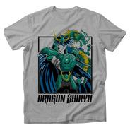 Playera Dragón Shiriu Caballeros Del Zodiaco